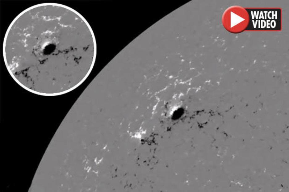Alien news: 'Giant hole' found on Sun sparking alien frenzy | Daily Star